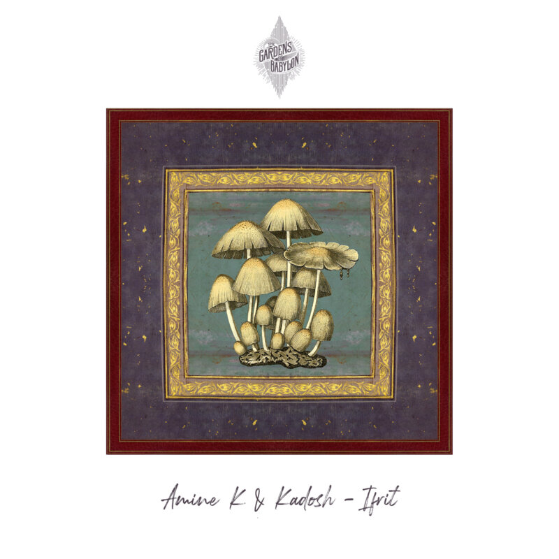 Amine K, Kadosh, ifrit EP, release, the gardens of babylon, tgob