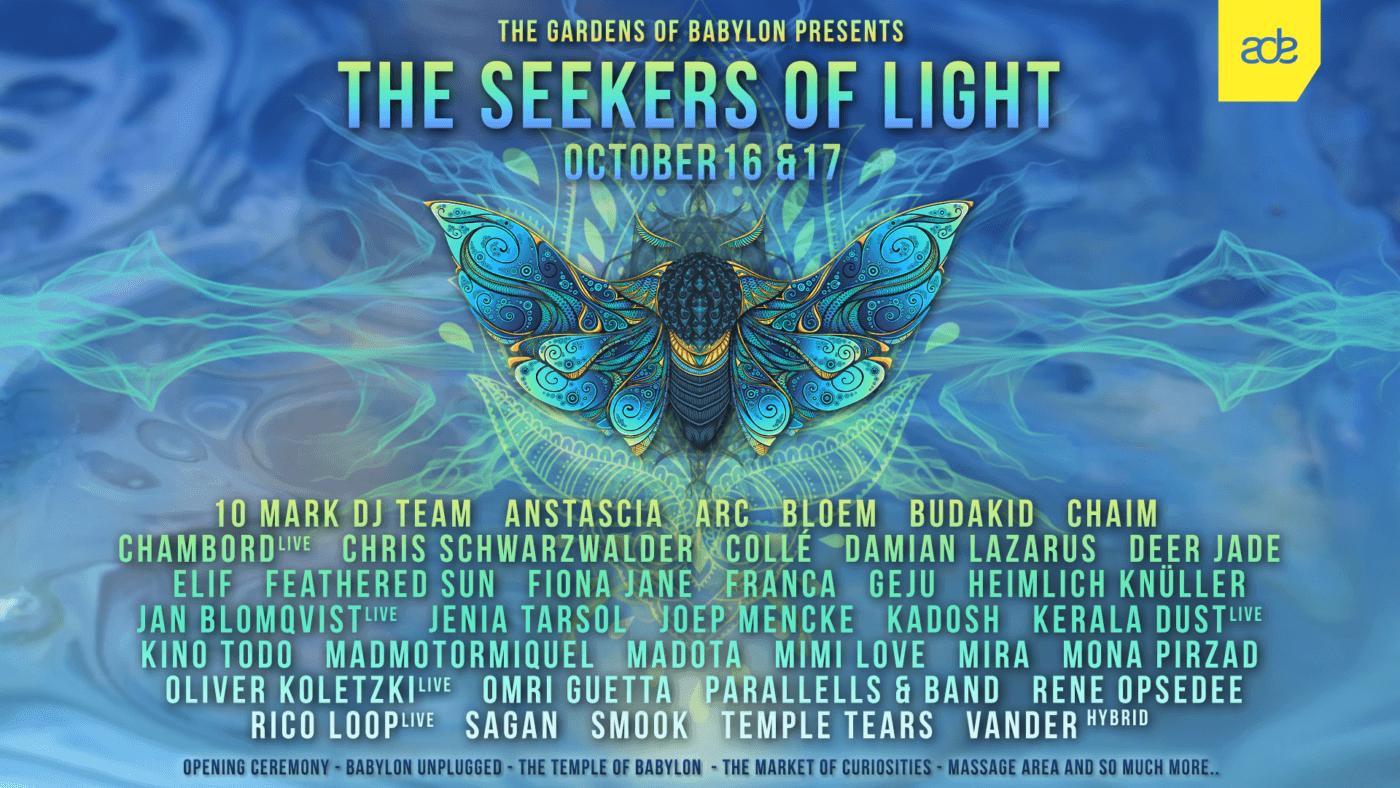 ADE The Seekers of Light Weekender