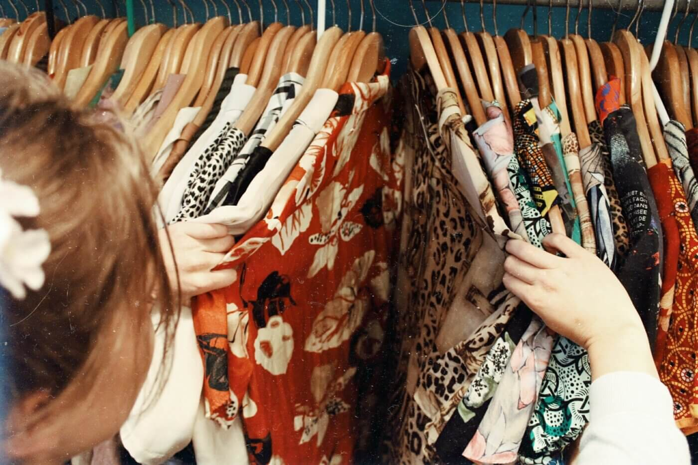 Vintage and second-hand shopping